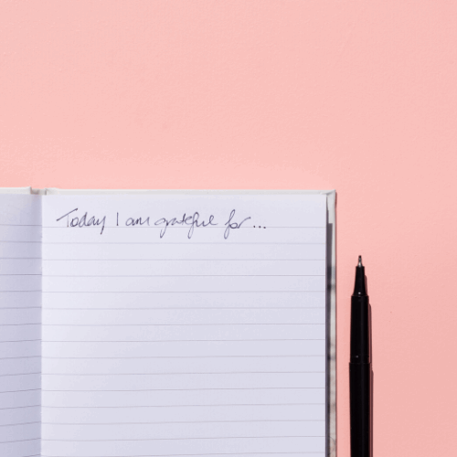 gratitude journal | The glow clinic