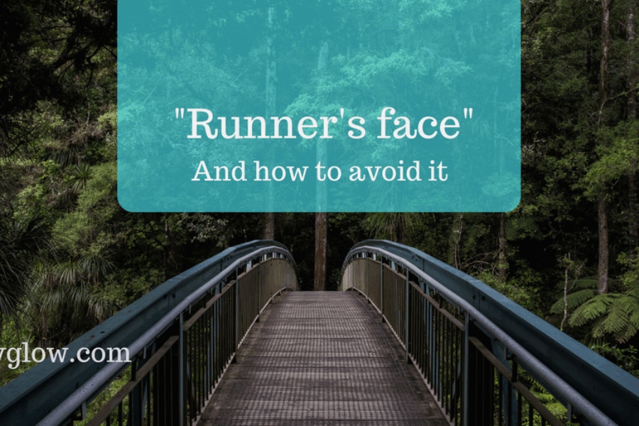 "How to avoid ""runner's face"""