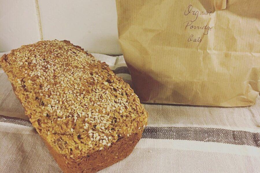 A recipe for wheat free bread